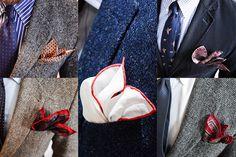 Jak nosić poszetkę? : Gentleman's Choice How to wear a pocket square?  Mens Fashion | Menswear | Men's Apparel |Men's Outfit | Sophisticated Style | Moda Masculina | Mens Shirt |