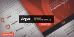 This Deals Argus - One Page Responsive Templatelowest price for you. In addition you can compare price with another store and read helpful reviews. Buy