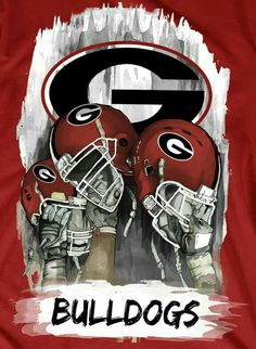 Georgia Bulldogs Football, Sec Football, College Football Teams, Football Fans, Football Helmets, Georgia Girls, University Of Georgia, Dog Costumes, Auburn