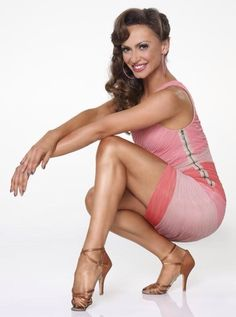 Karina Smirnoff. She's my favorite gal on dancing with the stars.