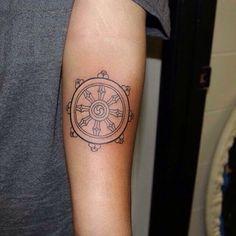 dharma wheel tattoo - Buscar con Google