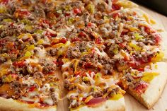 Easy Cheeseburger Pizza