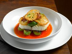 Gojee - Striped Bass with Spicy Tomato Sauce by Alta Editions