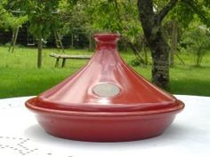 Glazed Tagine Pot