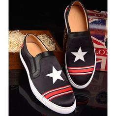Men Black Leather Hipster Hippie Fashion Casual Dress Loafers Shoes SKU-1100972