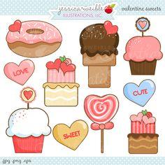 Valentine Sweets Imagens