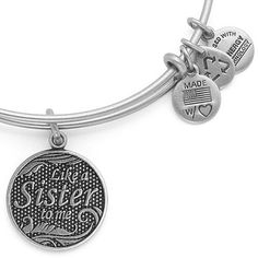 Like a Sister Bangle Rafaelian Silver. Have this one. Love it and the friend who gave it to me :)