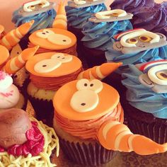 Cloudy with a Chance of Meatballs Cupcakes / 2tarts Bakery / New Braunfels, TX / www.2tarts.com