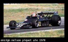 Ensign Nelson Piquet Ale 1978
