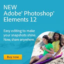 It's OUT!!!! YAY!!!!! I love new software. Adobe Photoshop Elements 12