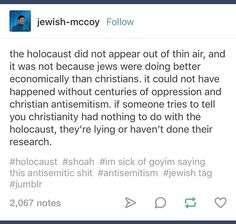 Of course, true Christians are not antisemetic...just like true Muslims don't blow people up. You gotta recognize people might call themselves Christians but they sure aren't. If they're doing what Jesus said, they're Christians. If they aren't, they're not. It's that simple. Read Bonhoffer if you want to understand true Christianity.