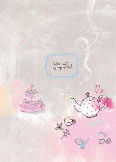 Coffee isn't my cup of tea by sophia touliatou
