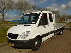 For sale: Used and second hand - Van MERCEDES-BENZ Open with sideboards SPRINTER 515 CDI