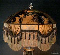 Victorian lampshades vintage custom lamp shades lamps victorian lampshades vintage custom lamp shades lamps pinterest victorian lampshades and victorian bed aloadofball Choice Image