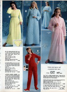1978 sleepwear for girls Montgomery Ward Christmas Catalog