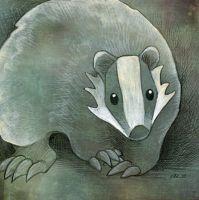 Badger by ursulav