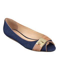 Take a look at this Dark Blue & Sable Ilani Flat on zulily today!
