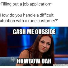 Rude Customer