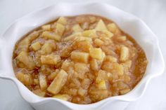 Crock Pot Apple Pie Filling