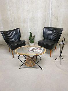 jaren 50 retro vintage cocktail stoel stoelen clubfauteuils Artifort
