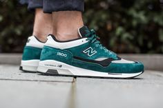 NEW BALANCE M1500 SA TEAL  available at www.tint-footwear.com/new-balance-m1500-dsa  New Balance M1500 SA teal leather sneakers runners kicks tint footwear studio munich