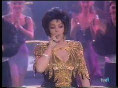 """Sara Montiel """"Fumando espero"""" Noche de fiesta.(finales de los 90) - YouTube"""