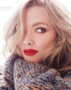 Amanda Seyfried by ALEXI LUBOMIRSKI for Vogue RU