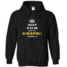 Keep Calm and Let DINAPOLI Handle It - #tee trinken #sudaderas hoodie. BUY NOW => https://www.sunfrog.com/Christmas/Keep-Calm-and-Let-DINAPOLI-Handle-It-rsjpw-Black-Hoodie.html?68278
