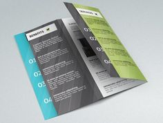 Nail Free TriFold PSD Brochure Template Httpswww - Tri fold brochure free template