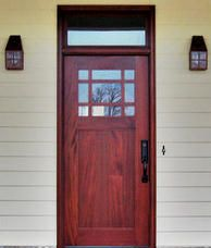 View our Craftsman Doors or shop from pictures of over 200 other Custom Exterior Wood Front Entry Doors. Let us help you find the Right Door for your Home or Office. Craftsman Style Doors, Craftsman Exterior, Exterior Front Doors, House Paint Exterior, Exterior Design, Front Entry, Front Porch, Wood Entry Doors, Door Entry