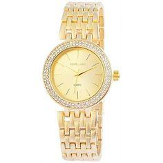 eine wunderschöne Damenuhr in goldener Farbe https://www.clarendo.de/damenuhren/2151-excellanc-damenuhr-gold-1528045.html