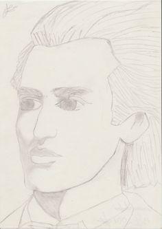 13-V-2001 ~ Mihai Eminescu My Drawings, Art, Kunst, Art Education, Artworks