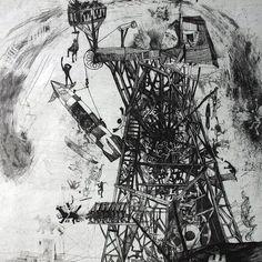 Bela Kondor - avant-garde painter and graphic artist Modern Art, Contemporary Art, Cobra Art, Digital Art Photography, Outsider Art, Naive, Installation Art, Art Blog, Printmaking