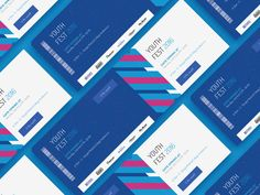 Youth Fest Ticket Design by Abdullah Noman - Dribbble