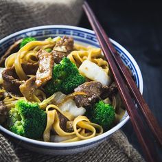 Asian pork n beef noodles Recipe up on the bloghellip