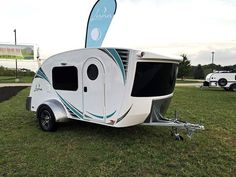 Looking more like a streamlined spaceship than a teardrop trailer, the new Luna by InTech RV was designed with help from small trailer owners.