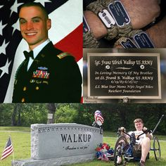OEW shares..... Today OEW remembers the Walkup family. On June 16, 2007, while serving as an Infantry Platoon Leader in Iraq, 1LT Frank Walkup IV was killed by an improvised explosive device near Rasheed, Iraq. 1LT Walkup's awards and decorations include: the Purple Heart, the Bronze Star and the Combat Infantryman's Badge. OEW Team Members wore a Survival Strap at the Half, also in honor of 1LT Walkup.Our hearts go out to Franz and his family today as we remember this hero. NEVER FORGET.™
