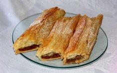 Strudel FOTO vocea.biz Strudel, Romanian Food, Good Spirits, French Toast, Sandwiches, Good Food, Breakfast, Sweet, Mai