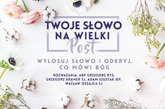 Otrzymaj Słowo dla siebie na Wielki Post / Twoje Słowo na Wielki Post / Wielki Post 2019 / Rekolekcje wielkopostne / Religia / DEON.pl Music Humor, Letter Board, Lettering, Humor, Washroom Sign, Drawing Letters, Letters, Texting, Character