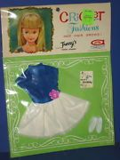 Tressy's Sister Doll CRICKET Outfit PARTY PRETTY American Character 1965 MIP!