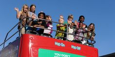 See Cape Town on a budget this June holiday - City Sightseeing is running a 3-for-1 kids special!