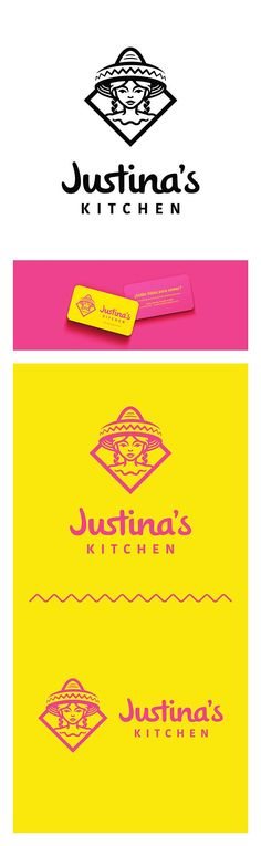 Branding for Mexican Restaurant on Behance - Logos Graphisches Design, Design Logo, Brand Identity Design, Corporate Design, Graphic Design Typography, Corporate Identity, Visual Identity, Food Design, Mexican Graphic Design