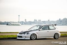 Darnell Andrada's Honda Civic EK (EJ) hatch via The Chronicles - stickydiljoe.com