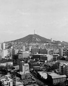 Seattle Skyline, Seoul, Korea, Photography, Travel, Vintage, Fotografie, Viajes, Destinations