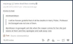 And this explanation for McGonagall's longevity. | 19 Really Funny Harry Potter Posts That You Maybe Haven't Seen Yet