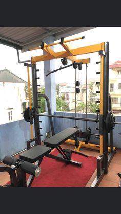 Home Gym Garage, Diy Home Gym, Gym Room At Home, Gym Workout Tips, Plank Workout, Home Gym Equipment, No Equipment Workout, Gym Plans, Gym Interior