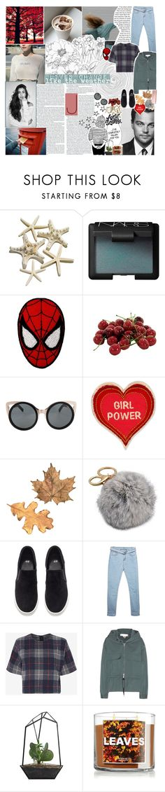 """""""☾ battle of the set styles : round six"""" by thundxrstorms ❤ liked on Polyvore featuring NARS Cosmetics, Marvel, INC International Concepts, Erdem, Patch Ya Later, H&M, rag & bone, STELLA McCARTNEY, Poesia and tbotss"""