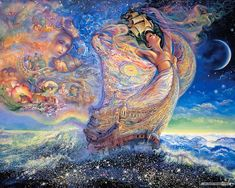 Josephine Wall Fantasy Art | Free Art wallpaper - Josephine Wall Fantasy Art Illustration wallpaper ...