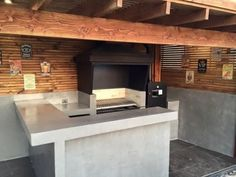 Santiago-quinchos-63 Outdoor Living, Living Spaces, Home Decor, Frases, Barbecue Grill, Design Projects, Exterior Design, Room Decor, Outdoor Life
