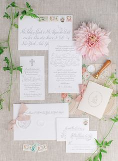 DC Wedding Invitation Suite by Holly Hollon | Kate Headley Photography